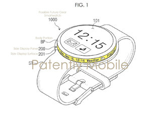Samsung's future smartwatch could have world's first rotary dial flexible display