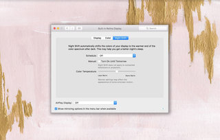 How to turn on Apple's Night Shift mode and adjust the colour on Macs