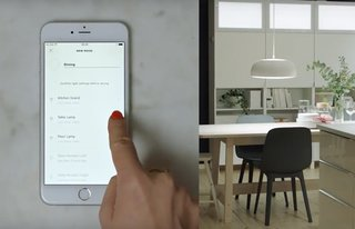 ikea goes after philips hue with own budget smart lighting. Black Bedroom Furniture Sets. Home Design Ideas