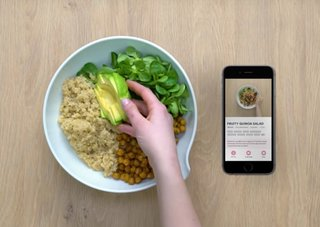 Runtastic made a cooking app with top-down videos like the ones on FB