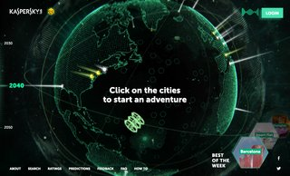 This interactive map shows how futuristic Earth might look in 2050