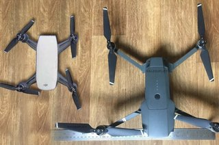 DJI's next drone basically looks like a much smaller Mavic Pro, leak reveals