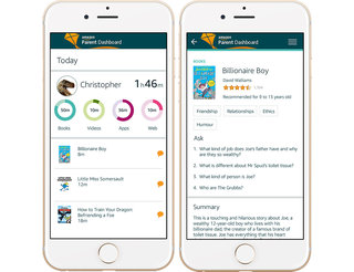 Amazon's new Parent Dashboard and Discussion Cards will keep you engaged with your child's development