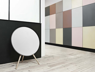 BeoPlay A9 speaker adds a roundness to your sound in more ways than one