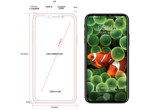 Great iPhone 8 schematic shows Apple's next phone with an edge-to-edge display