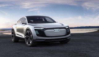 Audi e-tron Sportback is an all-electric A7 on stilts