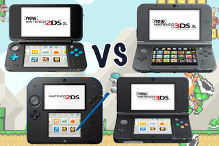Nintendo 2DS XL vs 2DS vs 3DS vs 3DS XL: What's the difference?
