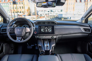 honda clarity fuel cell interior image 1