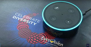 """""""Alexa, how many times has the UK won nil points?"""": Alexa knows everything about Eurovision"""