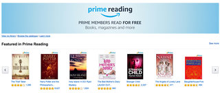 Amazon Prime users can now read thousands of books for free with Prime Reading
