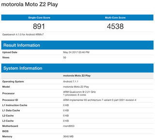 moto z2 play pictures and further specs revealed snapdragon 626 and 3 000mah battery confirmed image 3