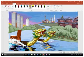 Whiteboard is Microsoft's Windows 10 app for collaborative inking