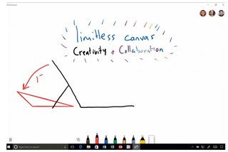 whiteboard is microsoft s windows 10 app for collaborative inking image 2