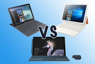Microsoft Surface Pro vs Huawei MateBook E vs Samsung Galaxy Book: Batalha dos 2-em-1s