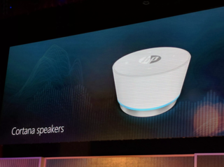 HP's Cortana device will be a standalone speaker with AI built in