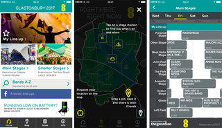 Preview Glastonbury acts and never lose your tent at the festival with EE's app