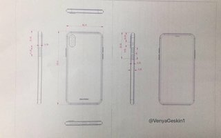 Do these leaked iPhone 8 drawings reveal the phone's final design?