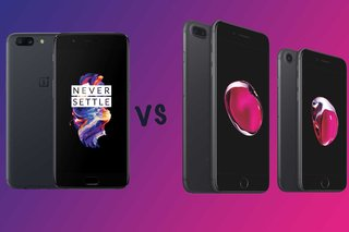 OnePlus 5 versus Apple iPhone 7 versus iPhone 7 Plus: wat is het verschil?