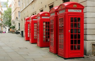 Public telephone booths
