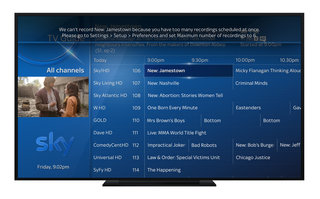 Sky Q now lets you record six programmes, while watching a seventh