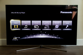 Panasonic UB400 user interface image 1