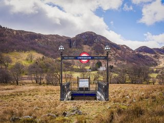 The Wales to London Underground