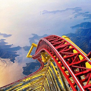 The world's craziest rollercoaster