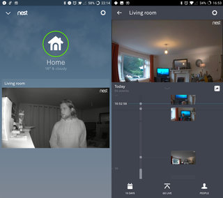 Nest Cam IQ software image 5