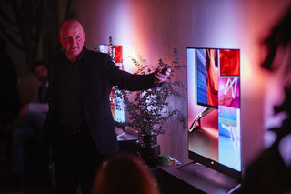 Changing the way we view TV: TP Vision's head designer talks about styling Philips' sets