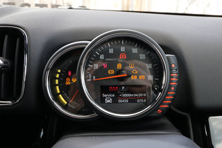 Mini Countryman Cooper S E electric interior image 6
