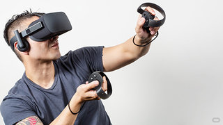Oculus Rift and Touch controllers bundled with free games, still just £399 for now