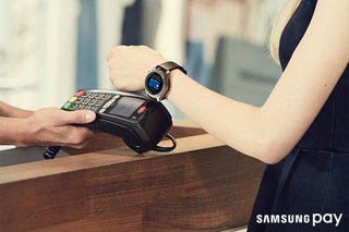 O Samsung Pay trata do Gear S3, use o seu smartwatch Samsung para efetuar pagamentos
