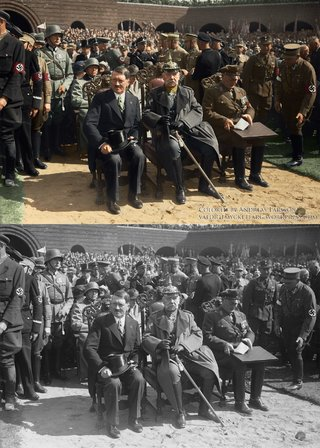 Colourised photos from history image 79