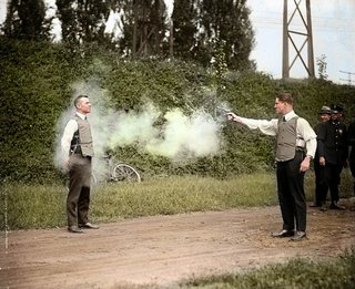 Colourised photos from history image 87