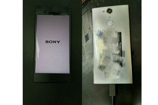 Sony Xperia XZ1 and XZ Compact appear in leaked photos