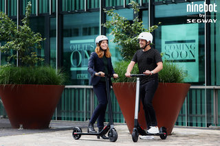 Segway KickScooter launches Ninebot electric scooters for speedy commuting