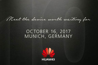 Huawei sends out 16 October event invite, likely for Mate 10 phone