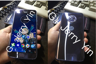 These hands-on pics show the Motorola Moto X4 in the incredibly shiny flesh