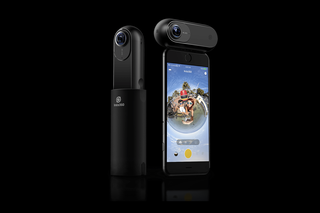 Insta360 One is a 360-degree 4K camera with a 'bullet time' mode