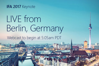 Microsoft IFA 2017 press conference: Watch it right here