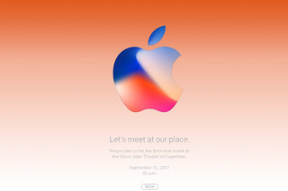 Official Apple invite is out, iPhone 8 will be unveiled on 12 September