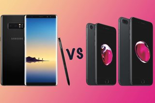 Samsung Galaxy Note 8 versus Apple iPhone 7 versus iPhone 7 Plus: wat is het verschil?