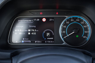 Nissan Leaf review driver display image 1