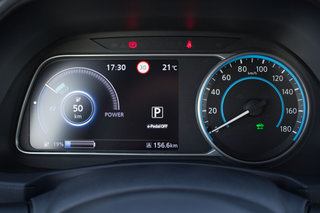 Nissan Leaf review driver display image 4