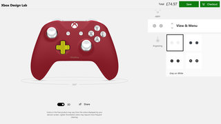 Xbox One Design Lab screens image 8