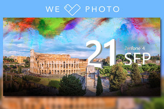 Can I watch the Asus Zenfone 4 launch online and what should I expect from the We Love Photo event?