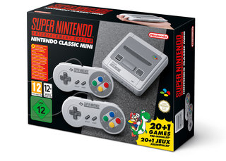 SNES Classic Mini back in stock and only £79.99 for Black Friday