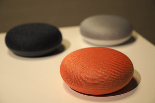 Google removes top touch function from Home Mini smart speaker