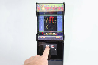If you love the SNES Classic Mini you'll adore the tiny, working Replicade Centipede arcade cabinet