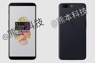 OnePlus 5T revealed: Front and backside shown off in leaked renders